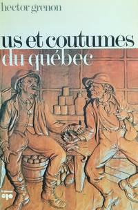 image of Us et coutumes du Québec