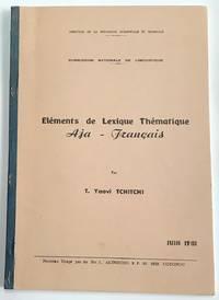 image of Elements de lexique thematique Aja-Francais