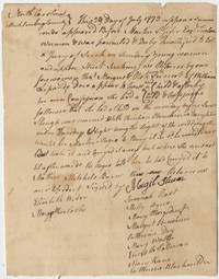 Colonial Indictment by a Jury of 12 Women of an unwed mother whose baby died under unexplained circumstances. North Carolina, 1773