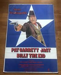 Pat Garrett Jagt Billy the Kid [Rare German Poster from Bob Dylan Movie: Pat Garrett Chases Billy the Kid]