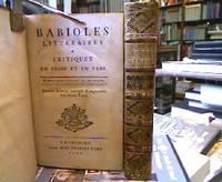 Babioles Litteraires & Critiques en Verse et en Prose.