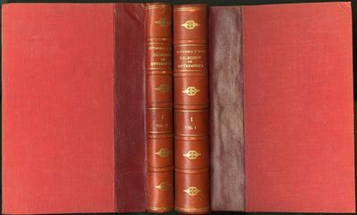 Madrid: Casa Editorial Bailly Bailliere, 1911. First Edition. Hardcover (Quarter Leather). Very Good...