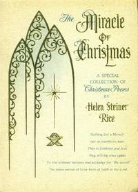 image of The Miracle of Christmas; a Special Collection of Christmas Poems
