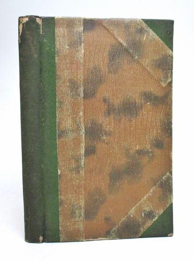 Berlin: Fischer, 1898. First. hardcover. very good. Small 8vo, 3/4 suede over mottled bronze paper b...
