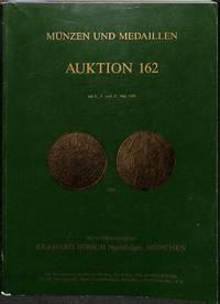 Auktion No.162, 8.-10. Mai 1989: Münzen Der Antike, Antike Kleinkunst Und  Gemmen, Gepräge d.… by  GERHARD MÜNZENHANDLUNG HIRSCH  - from Frits Knuf Antiquarian Books (SKU: 71821)