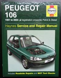 image of Peugeot 106 Petrol and Diesel Service and Repair Manual: 1991 to 2004