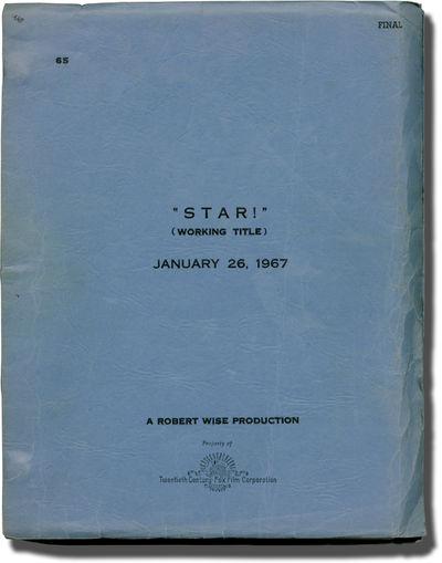 Los Angeles: Twentieth Century-Fox, 1967. Final Draft script for the 1967 film. SIGNED by director R...
