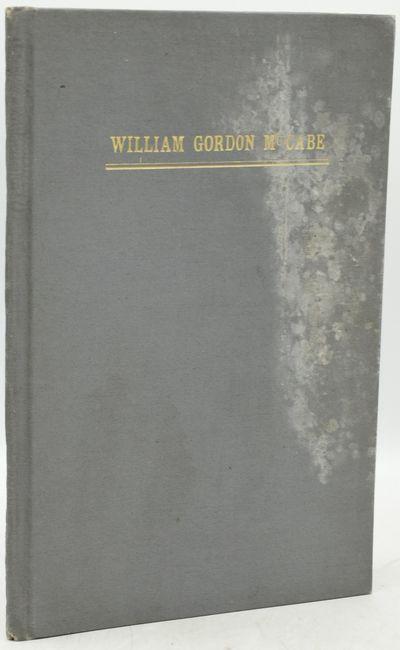 Richmond: Old Dominion Press, Printers, 1920. A much shorter memoir, preceding Armistead Gordon's Me...