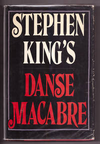 Danse Macabre by Stephen King - Hardcover - Book Club - 1981 - from Uncommon Works, IOBA and Biblio.com