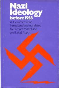 image of Nazi Ideology before 1933: A Documentation