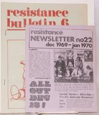 image of Resistance bulletin 6 (Dec. 1969)