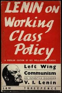 image of Left Wing Communism: An Infantile Disorder