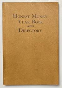 image of Honest money year book and directory