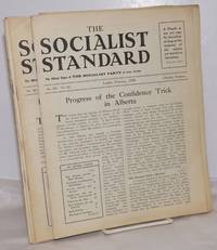 The Socialist Standard [11 issues] The Official Organ of the Socialist Party of Great Britain