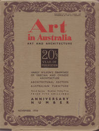 image of Art in Australia. Art and Architecture. Third Series Number 65 - Twenty Year Anniversay Number