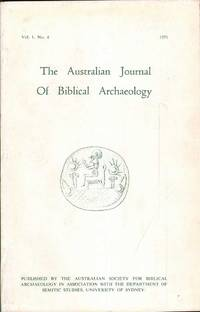 The Journal of Biblical Archaeology: Vol. 1 No. 4