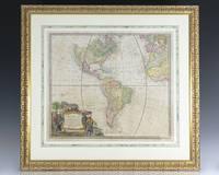 image of Americae Mappa Generalis. [Homann's Second Map of the Western Hemisphere].