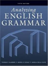 image of Analyzing English Grammar (5th Edition)