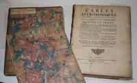 Tables astronomiques, dressées et mises en lumière par les ordres et par la...