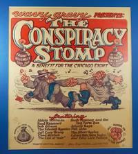 R. Crumb Wavy Gravy Conspiracy Stomp Chicago Eight Benefit Concert Poster