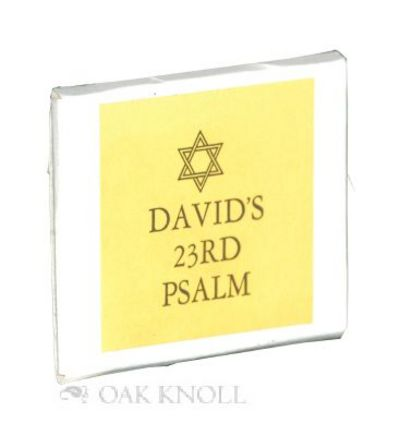 (Spartanburg, SC: Kitemaug Press, 2001. self paper wrappers in stiff paper envelope. Miniature Books...