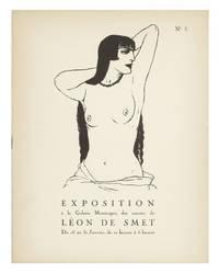 [From the upper cover]: Exposition à la Galerie Montaigne, des Oeuvres de...Du 15 au 31 Janvier [?1921]