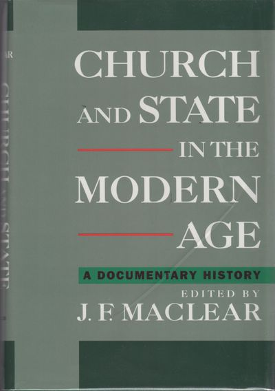 New York: Oxford University Press, 1995. First Edition, First Printing. Essential reference on churc...