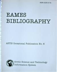 image of Eames Bibliography. ASTIS Occassional Publication No. 6.