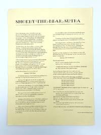 image of Smokey the Bear Sutra [Broadside]