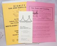 image of Dignity [two handbills and one brochure]