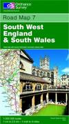 image of South West England and South Wales (Road Map)