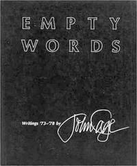 Empty Words: Writings '73 '78