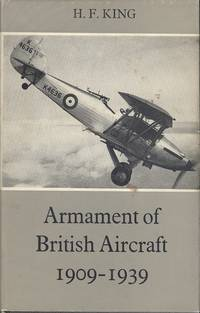 Armament Of British Aircraft 1909 -1939.