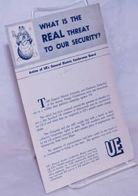 image of What is the real threat to our security? Action of UE's General Electric Conference Board