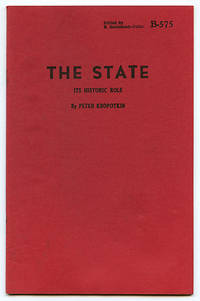 image of The State: Its Historic Role (B-575)