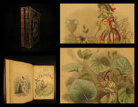 """The flowers personified; being a translation of Grandville's """"Les fleurs animées""""."""