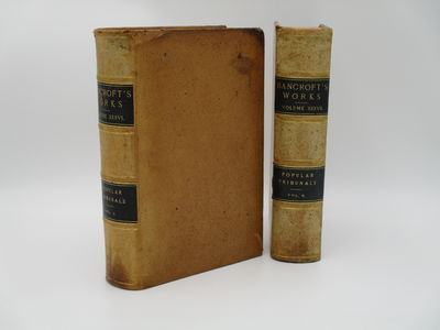 San Francisco. : The History Company. , 1887 . Contemporary full natural leather, raised bands, blac...