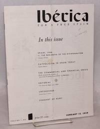 Ibérica; for a free Spain, volume 7, no. 1, January 15, 1959