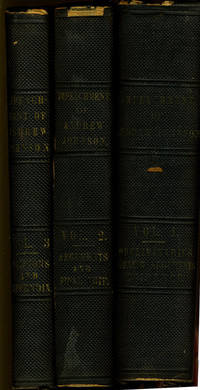 Trial of Andrew Johnson, President of the United States, before the Senate of the United States, on Impeachment by the House of Representatives for High Crimes and Misdemeanors.  Complete in three volumes