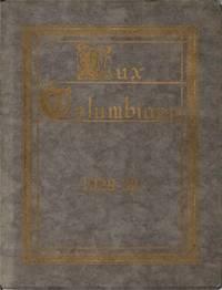 LUX COLUMBIANA, Columbian College Year Book. 1929-30.
