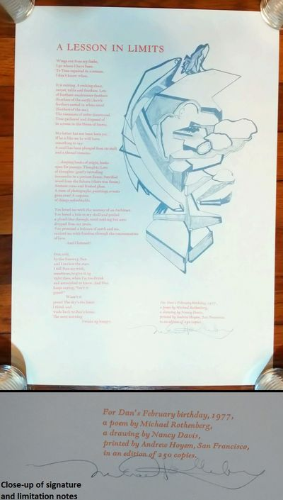 . Hardcover. This is a collection of poetry, writings, ephemera, and broadsides of American poet, au...