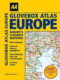 AA Glovebox Atlas Europe (AA Road Atlas)