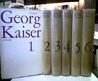 Werke in 6 Bänden. Bände 1- 3 Stücke; Band 4 Filme, Romane, Erzählungen,...