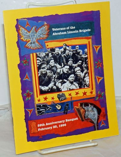 San Francisco: the Post, 1996. Pamphlet. 12p. 7x8.5 inches, illustrations, program, very good in sta...
