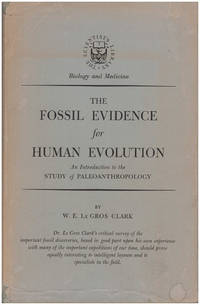 The Fossil Evidence for Human Evolution: An Introduction to the Study of Paleoanthropology