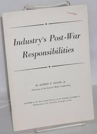 Industry's post-war responsibilities