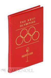 XXIII OLYMPIAD. THE