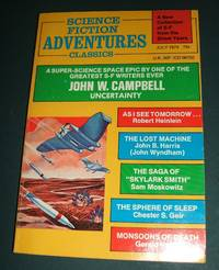 image of Science Fiction Adventures Classics for July 1974
