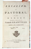 View Image 3 of 5 for Rosalind, a Pastoral. To the Memory of the Right Honourable the Countess Granville Inventory #4023