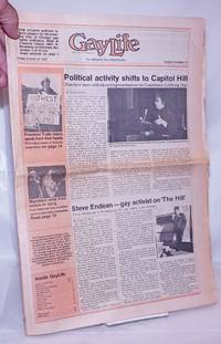 image of GayLife: the Midwest gay newsleader; vol. 5, #19, Friday, October 26, 1979: Political activity shifts to Capitol Hill